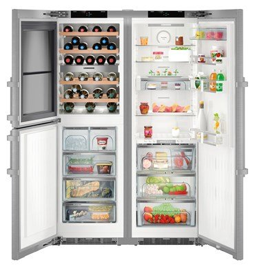Хладилник с фризер Liebherr SBSES8486(SWTNes4265+SKBES4360)